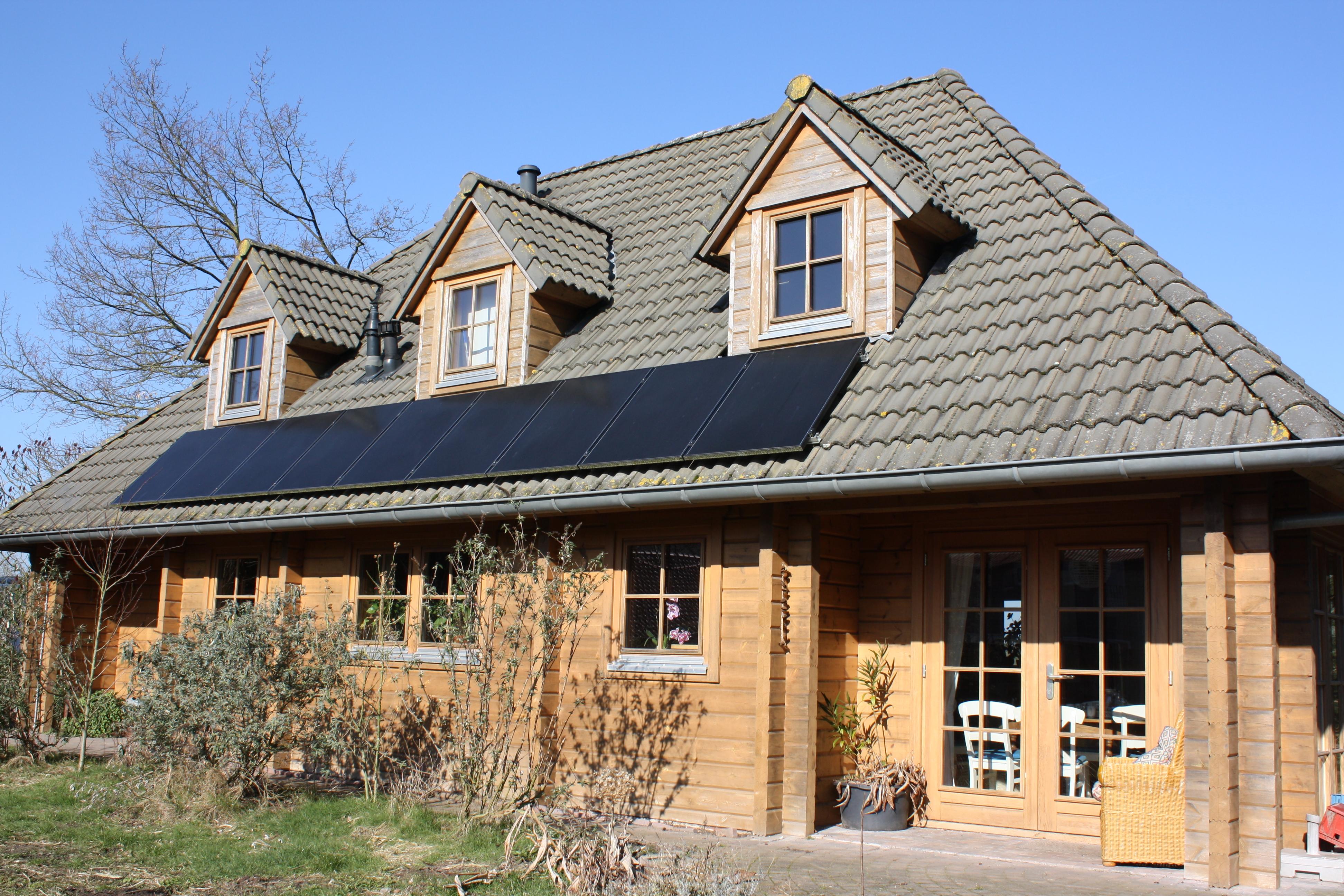 Houten Huizen Prijzen : Het houten huis
